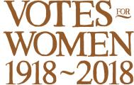 Votes for Women, centenary logo