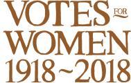 Votes for Women, centenary logo