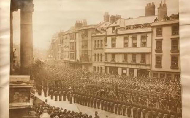 indian institute opening parade