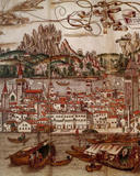 map of venice 15th century