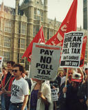Poll Tax Riots, 31 March 1990 (c) By James Bourne
