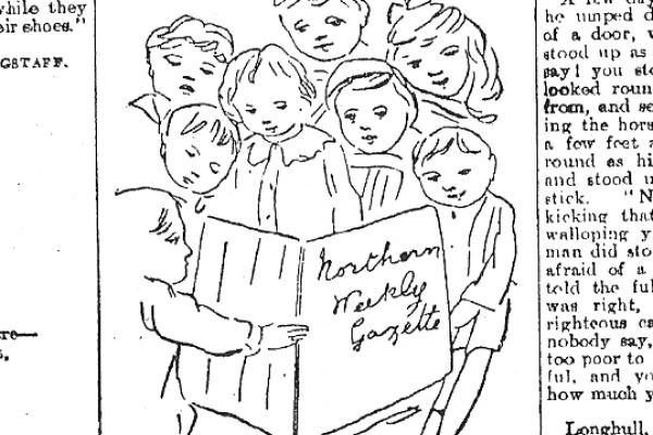 "'""Hurrah"" for ""Northern Weekly Gazette""', Northern Weekly Gazette, 10 November 1900, p.15"