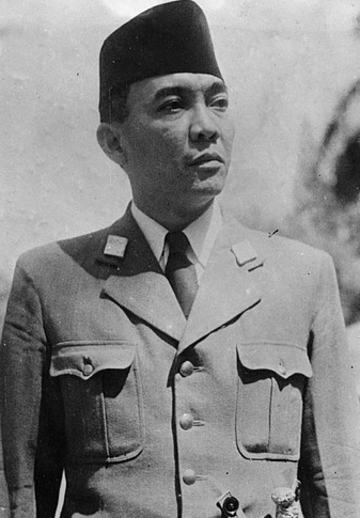 President Soekarno - President of indonesia 1945 to 1967