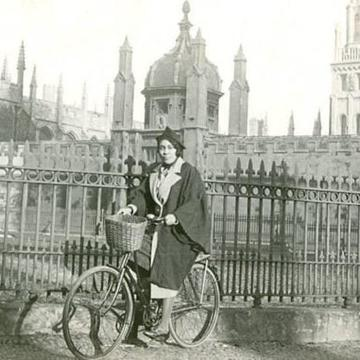 merze tate the first black woman student at the university of oxford after whom one of our faculty rooms is named