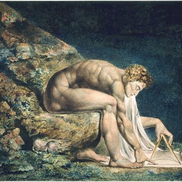 William Blake's Newton (1795)